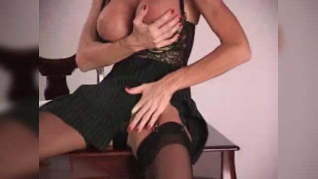 Mature Secretary At Her Desk In The Office PART 1